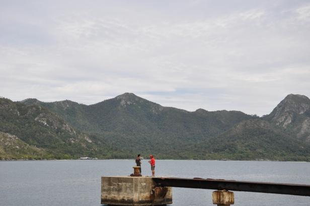 Memancing di Selat Lampa