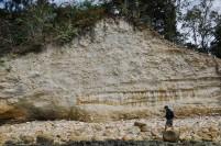Singkapan batuan di Pulau Putri.