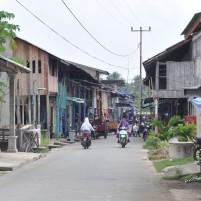 Suasana di pusat Pulau Midai, Natuna
