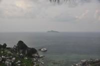 Pemandangan pulau Sedanau, salah satu pulau terluar di wilayah Kabupaten Natuna.