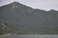 Pemandangan di sekitar dermaga Selat Lampa, Natuna.