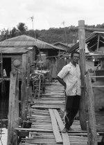 Nelayan tua di Setokok.