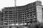 Pembangunan hotel di Batam Centre.
