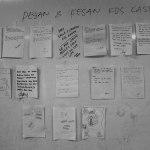 Pesan dan kesan ODHA yang ditempel di papa tulis ruang pertemuan KDS Kasper di RSBK, Batam.