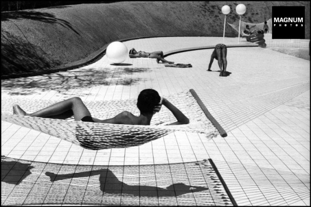 FRANCE. Provence. Town of Le Brusc. Pool designed by Alain CAPEILLERES. 1976.